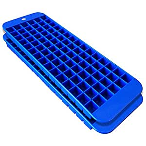 cubette mini ice cube trays set of 2 blue health personal care. Black Bedroom Furniture Sets. Home Design Ideas