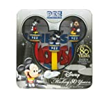 Pez Disney / Mickey Mouse 80th Anniversary Plastic Candy Dispenser with Candy Rolls