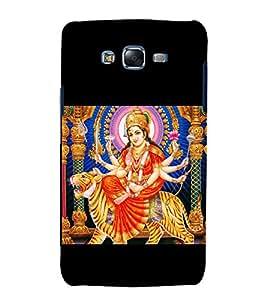 Maa Durga 3D Hard Polycarbonate Designer Back Case Cover for Samsung Galaxy J7 J700F (2015 OLD MODEL) :: Samsung Galaxy J7 Duos :: Samsung Galaxy J7 J700M J700H