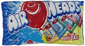 Airheads Chewier Mini Bars Laydown Bag, 12 Ounce