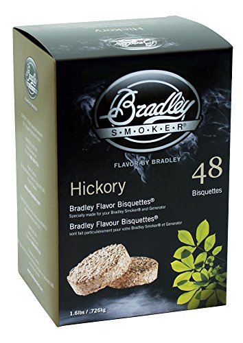 Bradley Hickory Bisquettes 1.6lb 48 pack (Bradley Smoker Bs611 compare prices)