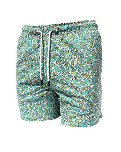 98 Coast Av. Men's Aqua Margaritas Shorts