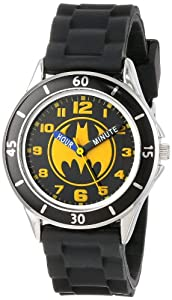 Batman Kids' BAT9152 Watch with Black Rubber Band
