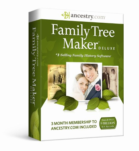 Family Tree Maker Deluxe (Family History Software compare prices)