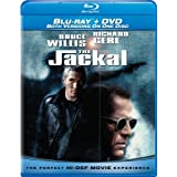 The Jackal (Combo Blu-ray and Standard DVD) ~ Bruce Willis