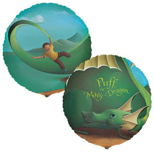 "Puff, the Magic Dragon 18"" Foil Balloon"