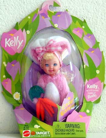 2002 Mattel Kelly Easter Garden Girl Chick Doll - 1