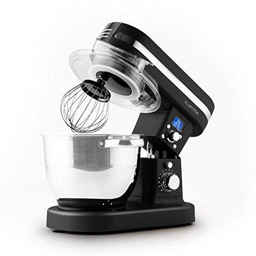 Klarstein Kitchenesse Teigknetmaschine Küchenmaschine mit Kochfunktion