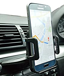 Phone Holder, iTechnics Car CD Slot phone Holder car cell holder mount for iPhone 6 6 plus iPhone 5 / 4 Samsung Galaxy S6/S5 Sony HTC Android LG Nokia MOTOROLA GPS Devices TOMTOM and many more(Black)