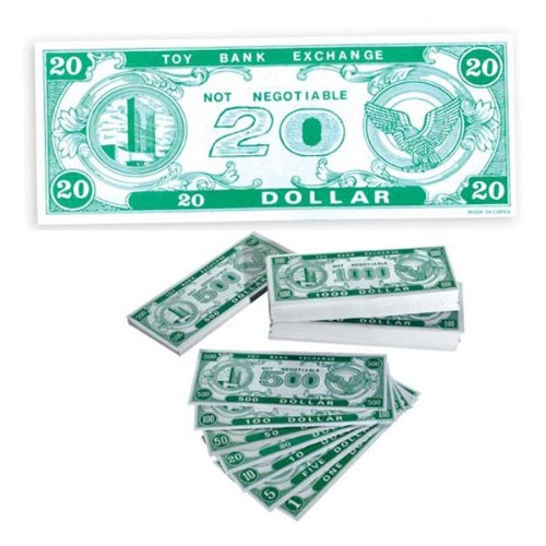 Play Money $20 (1000 ct)