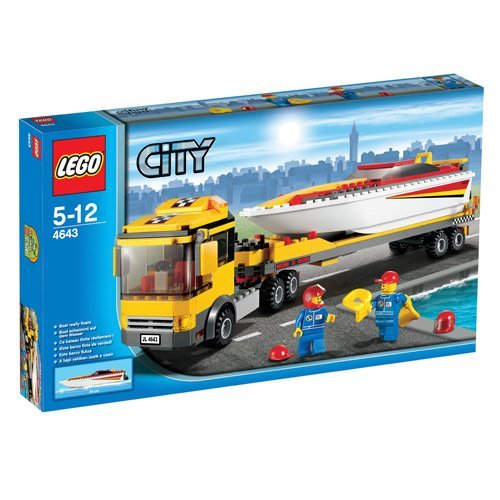 LEGO City 4643: Power Boat Transporter
