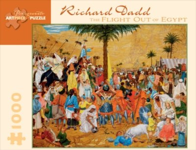 Dadd/Flight Out Of Egypt 1000 Piece Puzzle