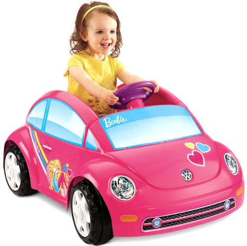 Review Of Fisher-Price Power Wheels Barbie Volkswagen Beetle Toy Car