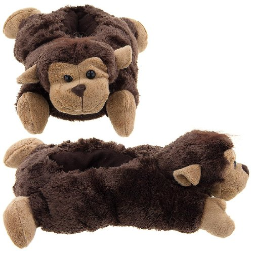 Image of Monkey Animal Slippers for Women (B009TH3MC8)