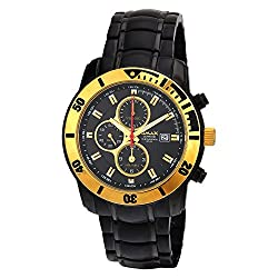 Omax Date Analog Chronograph Black Dial Mens Watch - CS175