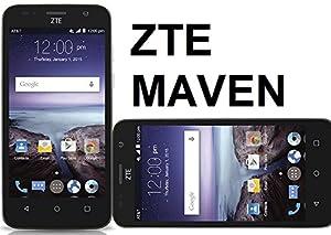 Zte Maven Unlocked 4g Lte Quad Core Z812 5mp Flash 8gb Lollipop