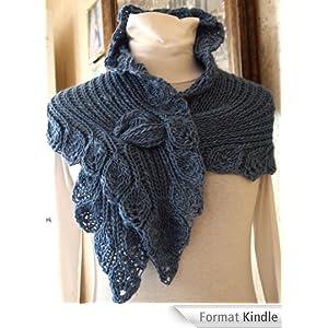 Ruffle Scarf Hand Knitting Pattern (English Edition) [Format Kindle]