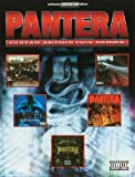 Pantera Guitar Anthology Authentic Guitar Tab Edition (Guitar Anthology Series) by Pantera (1999-11-01)