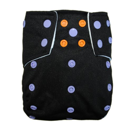 Besto Baby Reusable Washable Aio Cloth Diapers Fit 6-33Lbs With 1 Free Microfiber Insert 1Cb26 back-781725