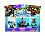 echange, troc Pack de figurine pirate Skylanders: Spyro's adventure - Terrafin + Bateau pirate + Trésor Caché + Epée pirate