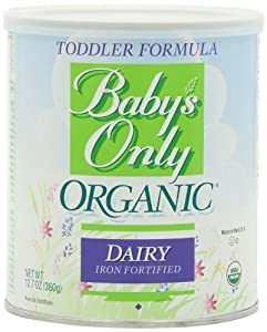 Baby's Only Organic Dairy Formula, 12.7 Ounce (Pack of 6) from Baby's Only Organic