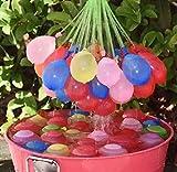 CountyLinen Water Ballons, 111 Balloons Bunch,Assort Colors