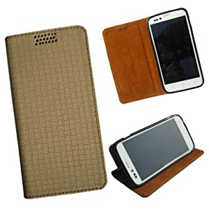 i-KitPit - New Design PU Leather Flip Case For Nokia Lumia 620 (BEIGE)