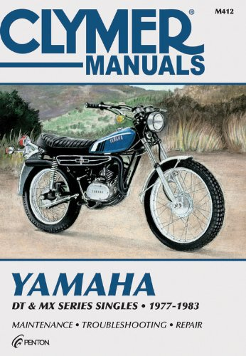 Yamaha Dt & Mx Series Sngls 77-83 (M412) back-450073
