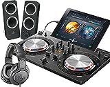 PIONEER DJスタートセット DDJ-WEGO3-K + Z200 + ATH-M20X(DJコントローラー + スピーカー + ヘッドホン) (ブラック)