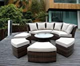Genuine-Ohana-Outdoor-Patio-Wicker-Furniture-7pc-All-Weather-Round-Couch-Set-with-Free-Patio-Cover