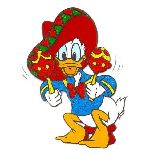 Amazon.com: Donald Duck Mexican hat sombrero maracas Disney Heat Iron