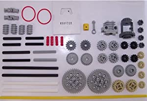 LEGO TECHNIC 56-Piece Set with Gear Wheels, Axles and Motor Parts