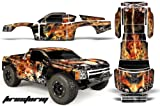 Chevy Silverado 1500-PRO LINE-Traxxas Slash-PRO3307-60-AMRRACING-RC Graphics Kit-FIRESTORM