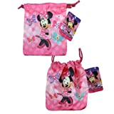 Disney Minnie Small Drawstring Satin Pouch