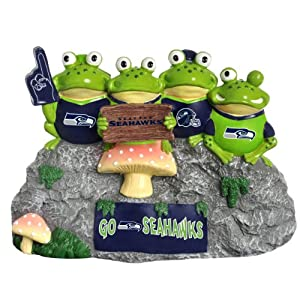 NFL Seattle Seahawks Frog Fan Bench by Forever Collectibles