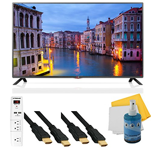 39Lb5600 - 39-Inch Full Hd 1080P 60Hz Led Hdtv Mci 120 Plus Hook-Up Bundle. Bundle Includes Tv, 3 Outlet Surge Protector With 2 Usb Ports, 2 -6 Ft High Speed 3D Ready 1080P Hdmi Cable, Performance Tv/Lcd Screen Cleaning Kit, And Cleaning Cloth.