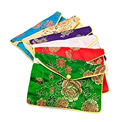 Fancy Pouch Large Oriental Style (Package of 12)