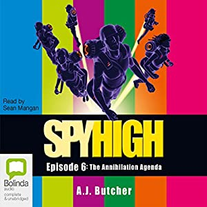 Spy High Audiobook