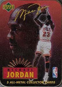 Michael Jordan 5 All-Metal Collector Cards