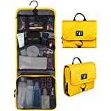 Bags-mart Hanging Toiletry Kit Travel Bag Cosmetic Carry Case Makeup Organizer With Breathable Mesh Pockets