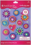 Buy Seasons - American Girl Crafts - Funky Felt Pins Activity