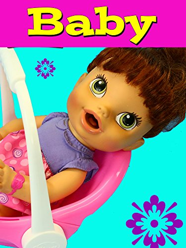 Baby Alive Lucy Outing With Car Seat & Packing Diaper Bag With Toys, Potty & Diapers
