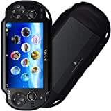 IGloo Matt Hydro Gel Skin Cover Case For The Sony PS Vita Playstation Console - Black