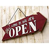 アメリカン 木製看板 両面プリント OPEN&CLOSED/オープン&クローズ(AZ/アロー)ウッドサイン 看板 ガレージ カフェ 雑貨 アメリカン雑貨 アメリカ雑貨 看板