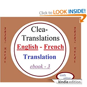 English To French Translation Clea Translations