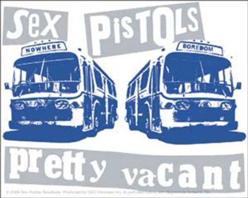 Licenses Products Sex Pistols Pretty Vacant Sticker