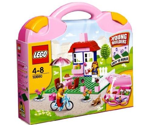 レゴ 基本セット・ピンクのスーツケース 10660