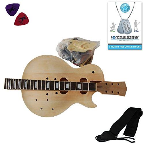 Kit fai da te Chitarra Elettrica LP, Costruisci la tua chitarra