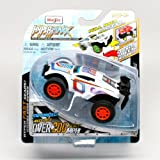 Speed Beast (White) * Hyper-Maxx High-Torque Pull-Back Motorized Vehicle * 2013 Maisto Hyper Fast Li