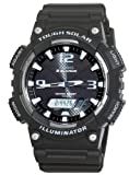 Casio #AQ-S810W-1AV Men's Tough Solar Analog Digital Watch